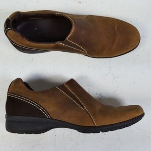 Cole Haan Brown Water Proof Loafers